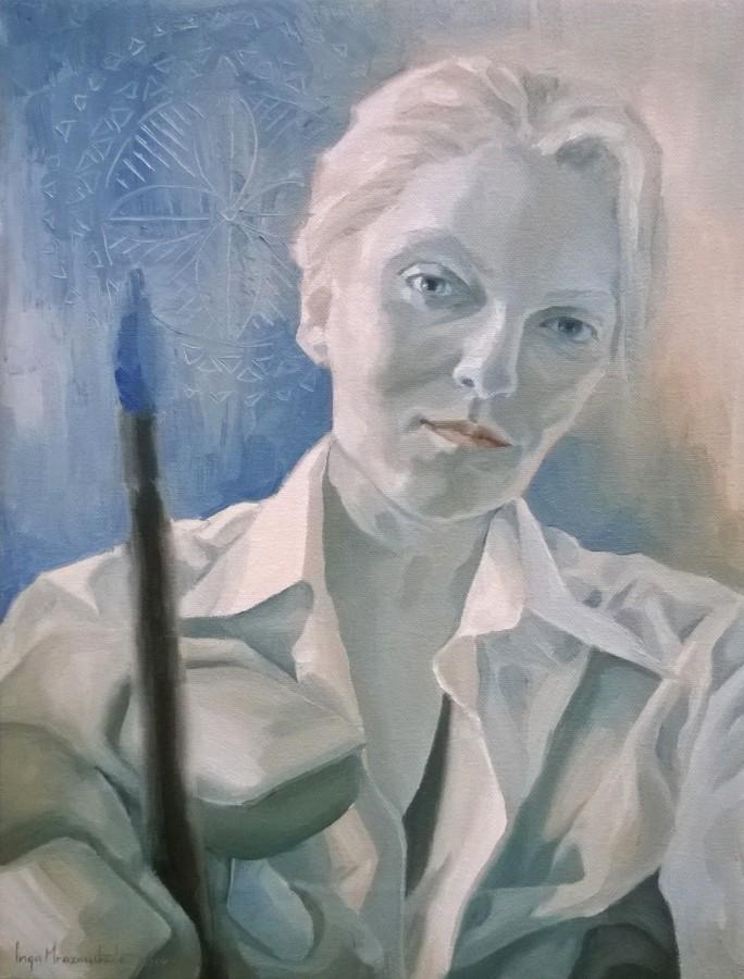 Selfie II [self-portrait]